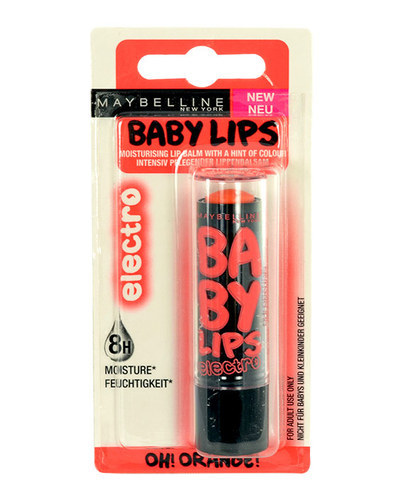 Maybelline Baby Lips Electro 4,4gr Oh! Orange!