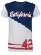 Δίχρωμο Ανδρικό Μπλουζάκι California