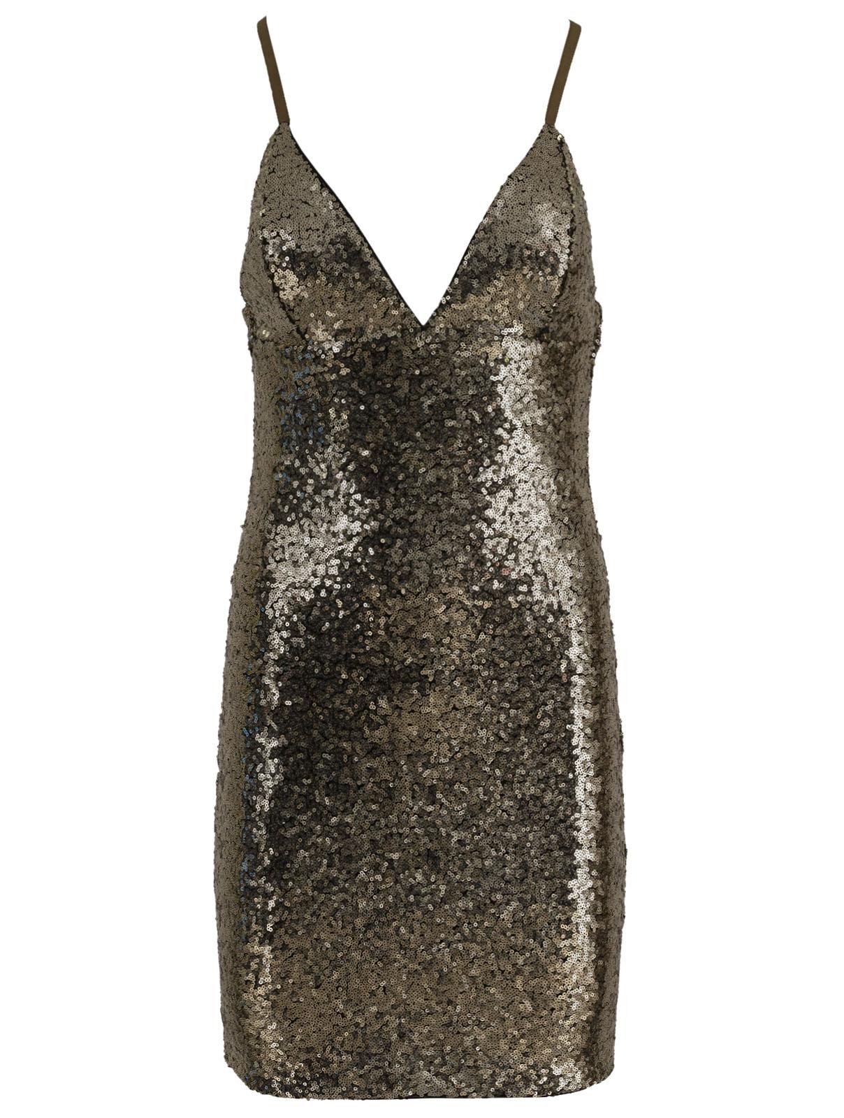 Μίνι Φόρεμα Παγιέτα