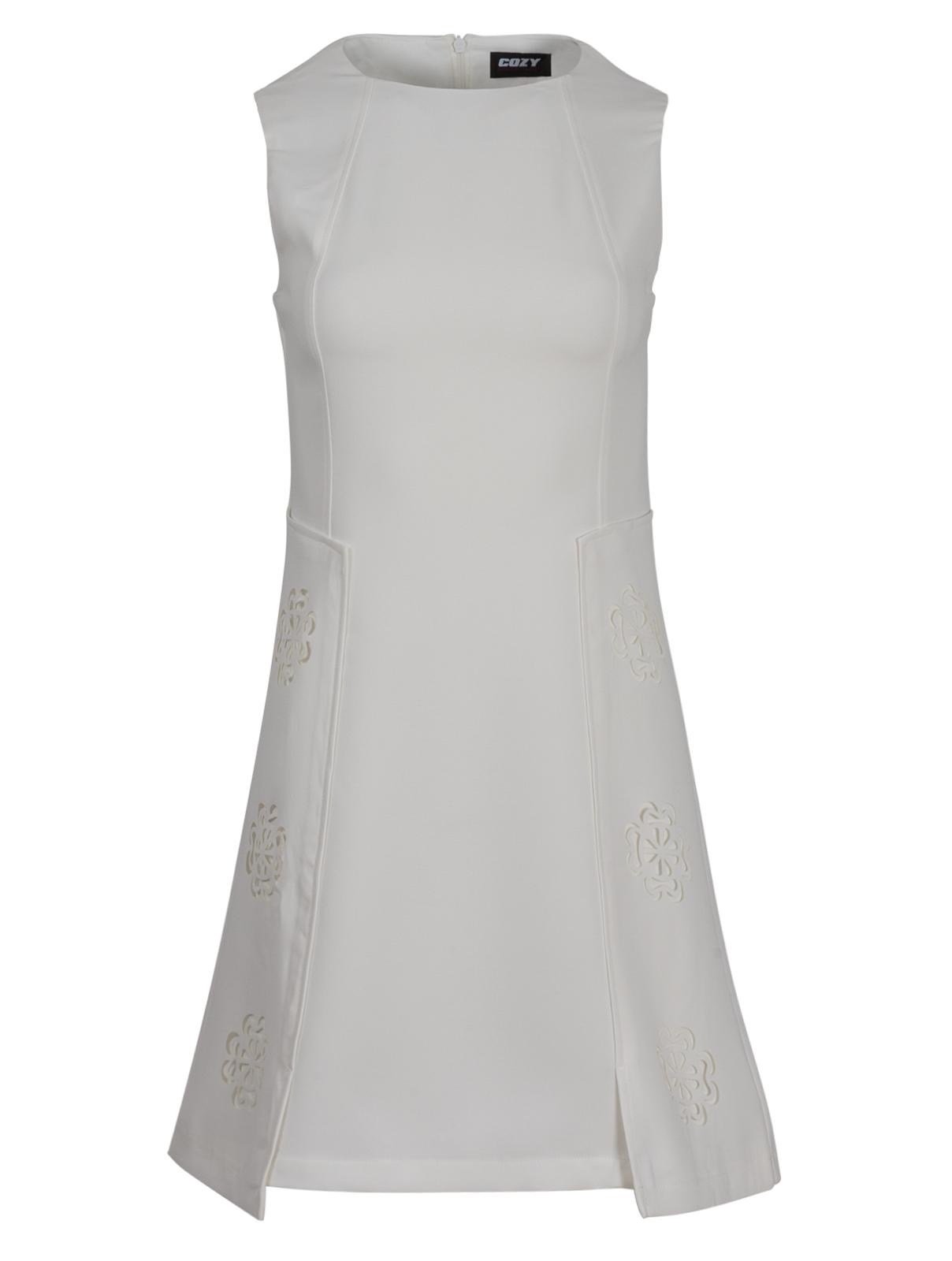 Φόρεμα Αμάνικο με Διάτρητο Σχέδιο γυναικεια   φορέματα   mίνι   μίντι