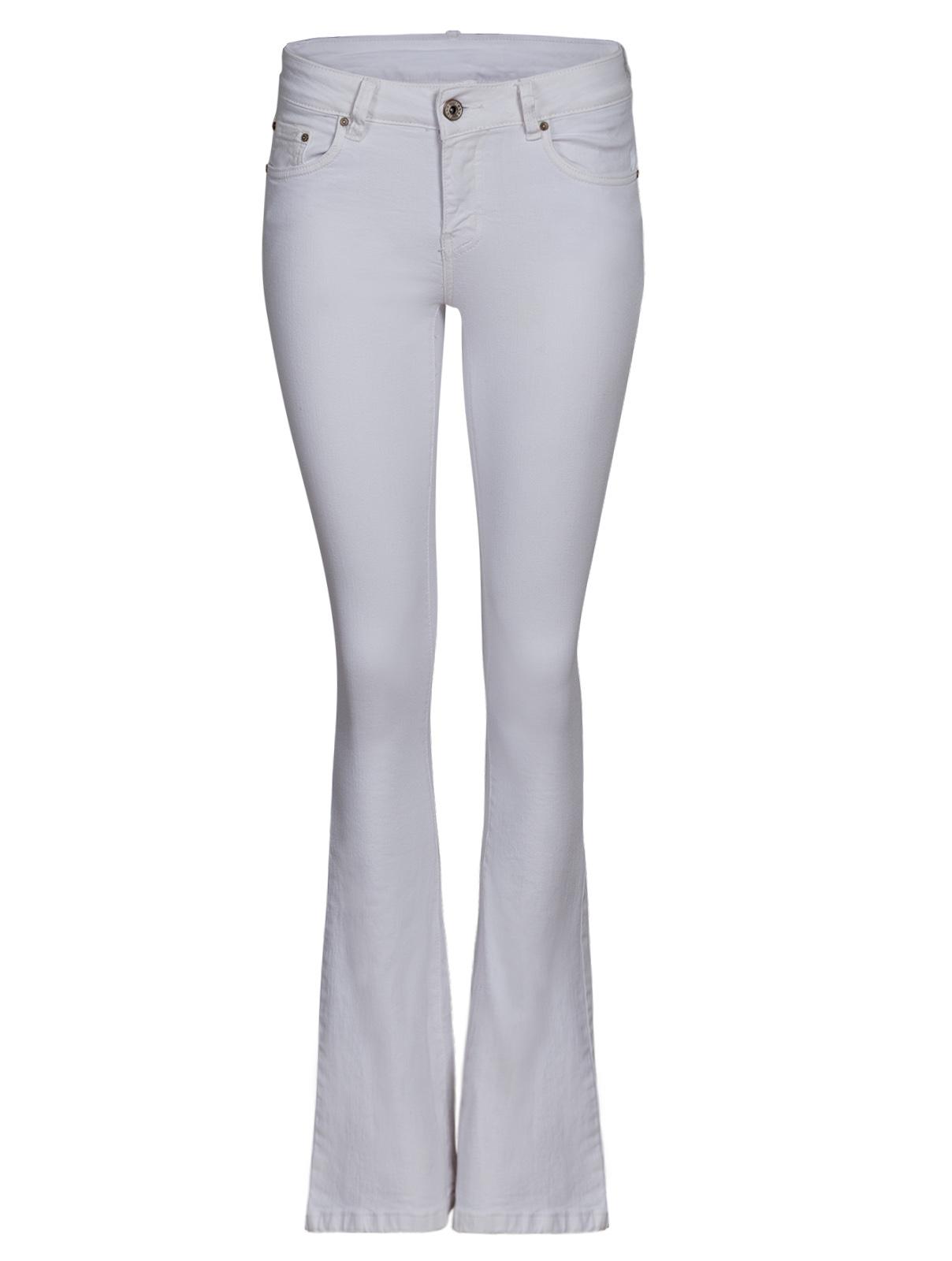 Λευκό Τζίν με Καμπάνα γυναικεία   παντελόνια   τζίν   ντένιμ