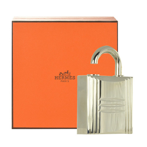 Hermes Pure Perfume Lock Spray Refillable 7,5ml Refillable Silver oμορφια   αρώματα   σετ αρωμάτων