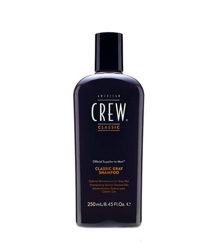 AMERICAN CREW Men Gray Shampoo 250ml oμορφια   μαλλιά   φροντίδα μαλλιών   σαμπουάν