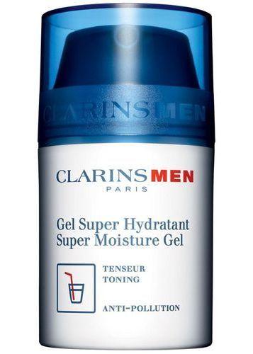 Clarins Men Super Moisture Gel Facial Gel 50ml (All Skin Types - For All Ages) oμορφια   πρόσωπο   καθαρισμός προσώπου