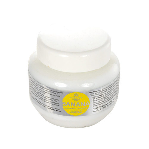 KALLOS Banana Fortifying Hair Mask With Multivitamin Complex 275ml oμορφια   μαλλιά   αναδόμηση μαλλιών   μάσκες μαλλιών