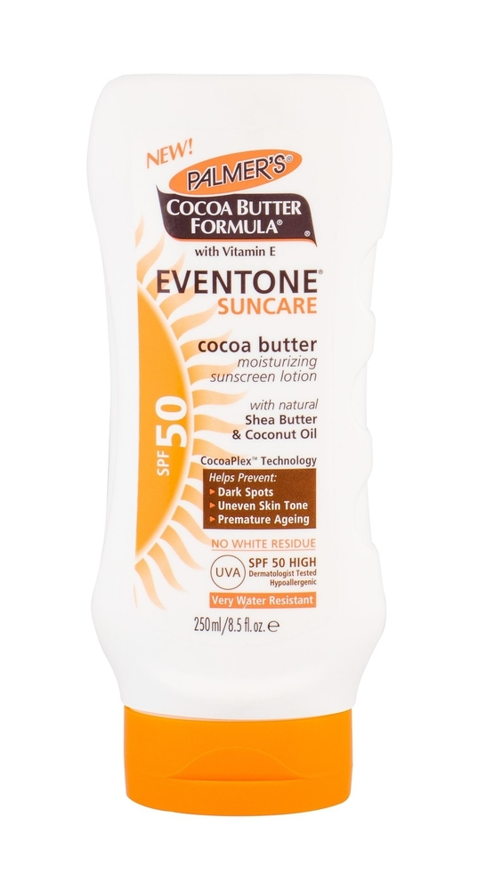 Palmer/s Eventone Suncare Cocoa Butter Sun Body Lotion 250ml Waterproof Spf50 oμορφια   αντηλιακή προστασία   αντηλιακά σώμα πρόσωπο   αντηλιακά