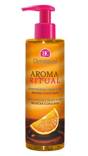 Dermacol Aroma Ritual Liquid Soap Belgian Chocolate 250ml Belgian Chocolate oμορφια   σώμα   καθαρισμός σώματος