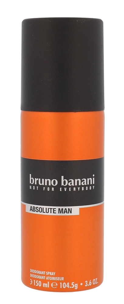 Bruno Banani Absolute Man Deodorant 150ml Aluminum Free (Deo Spray)
