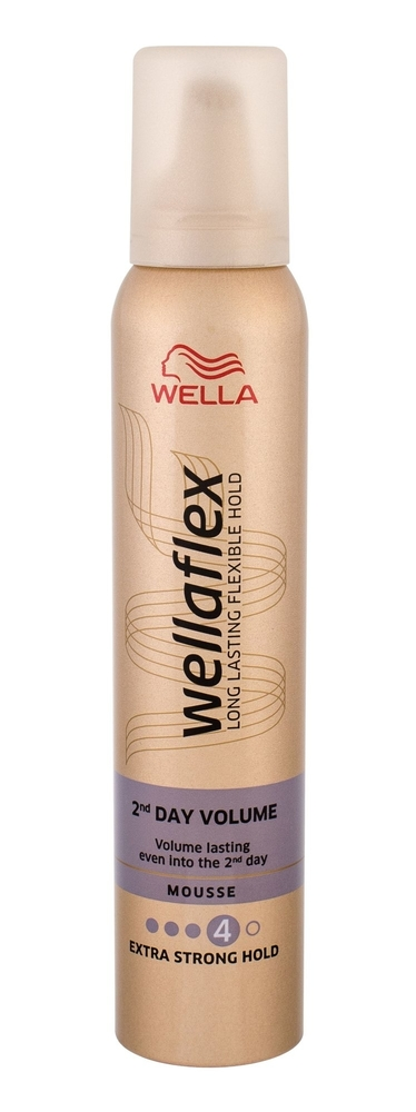 Wella Flex 2nd Day Volume Hair Mousse 200ml (Extra Strong Fixation)