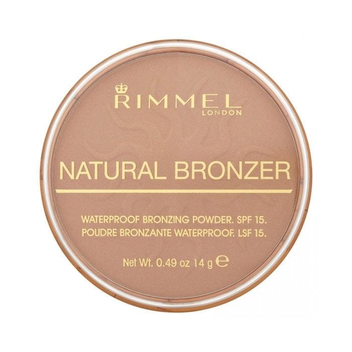 Rimmel London Natural Bronzer Bronzer 14gr Spf15 022 Sun Bronze