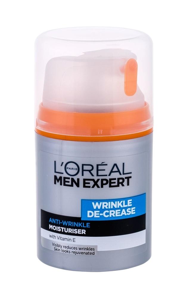 L/oreal Paris Men Expert Wrinkle De-crease Day Cream 50ml (Wrinkles - All Skin Types)