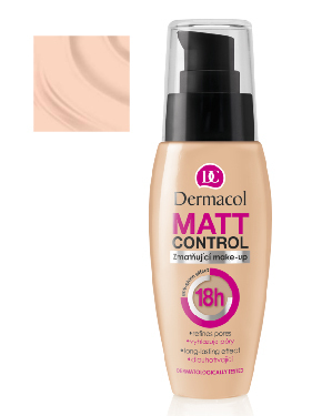 Dermacol Matt Control Make Up 1 30ml 1