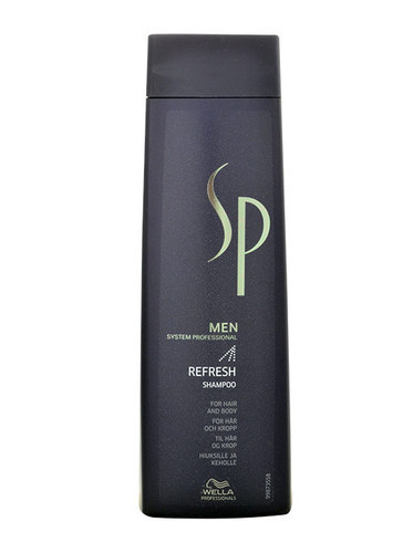 Wella Sp Men Refresh Shampoo 250ml (All Hair Types)