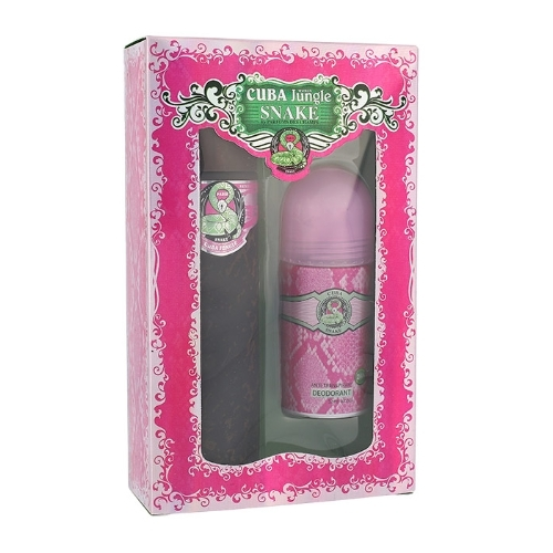 Cuba Jungle Snake Eau De Parfum 100ml Combo: Edp 100 Ml + Deodorant 50 Ml