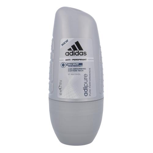 Adidas Adipure Deo Rollon 50ml oμορφια   αρώματα   αποσμητικά