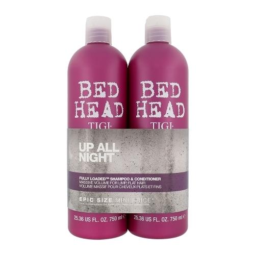 Tigi Bed Head Fully Loaded Shampoo 750ml Combo: Shampoo 750 Ml + Conditioner 750 Ml (Fine Hair)