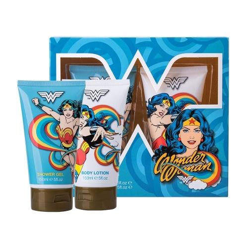 Dc Comics Wonder Woman Shower Gel 150ml - Set Shower Gel 150ml & Body Lotion 150ml