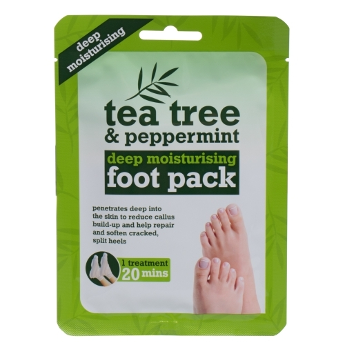Xpel Tea Tree Tea Tree & Peppermint Deep Moisturising Foot Pack Foot Cream 1pc