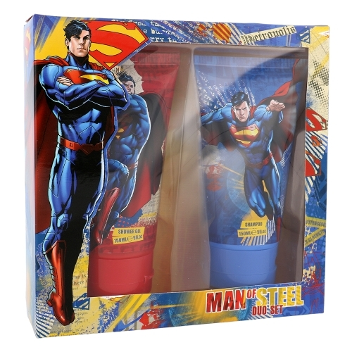 Dc Comics Superman Shower Gel 150ml - Set Shower Gel 150ml & Shampoo 150ml oμορφια   μαλλιά   αξεσουάρ μαλλιών   σετ περιποίησης μαλλιών