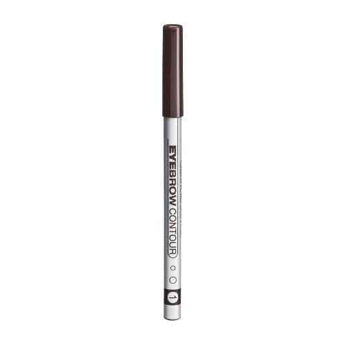 Gabriella Salvete Eyebrow Contour Eyebrow Pencil 0,28gr 01 Brown oμορφια   μακιγιάζ   μακιγιάζ ματιών   μολύβια φρυδιών