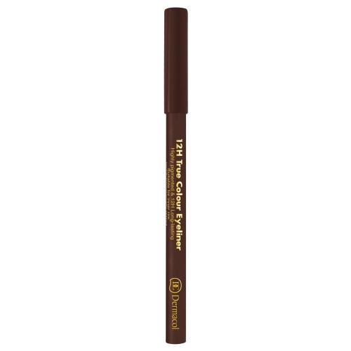 Dermacol 12h True Colour Eye Pencil 0,28gr 6 Dark Brown