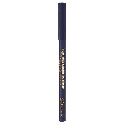 Dermacol 12h True Colour Eye Pencil 0,28gr 7 Grey oμορφια   μακιγιάζ   μακιγιάζ ματιών   μολύβια ματιών