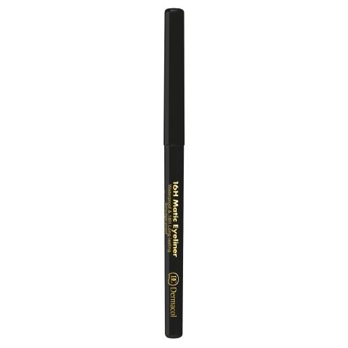 Dermacol 16h Matic Eye Pencil 0,28gr 4 Black oμορφια   μακιγιάζ   μακιγιάζ ματιών   μολύβια ματιών