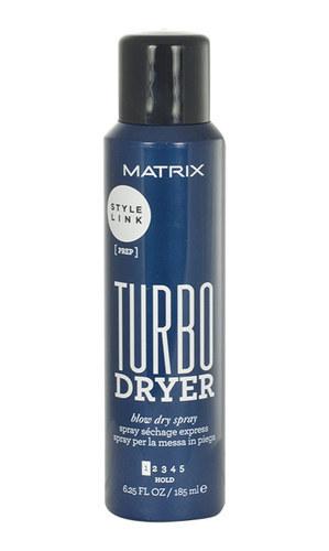 MATRIX Style Link Turbo Dryer Blow Dry Spray spray przyspieszajacy suszenie wlosow Hold 1 185ml