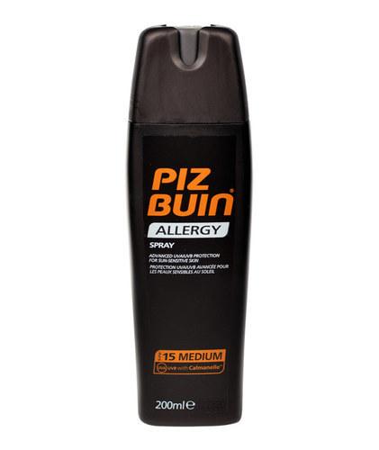 Piz Buin Allergy Sun Sensitive Skin Spray Sun Body Lotion 200ml Spf15