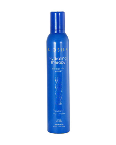 Farouk Systems Biosilk Hydrating Therapy Rich Moisture Mousse Hair Mousse 360gr oμορφια   μαλλιά   styling μαλλιών   αφροί μαλλιών