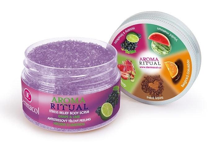 Dermacol Aroma Ritual Grape & Lime Body Peeling 200gr