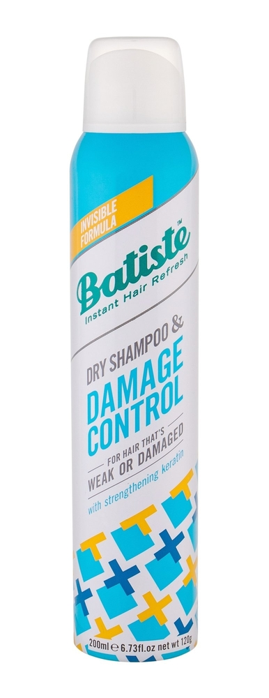 Batiste Damage Control Dry Shampoo 200ml (Weak Hair - Damaged Hair)