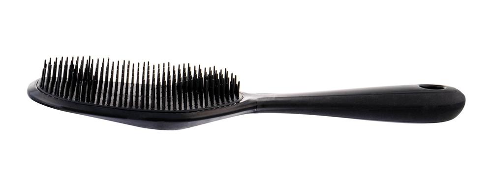 Detangler Detangling Soft Hairbrush 1pc Black