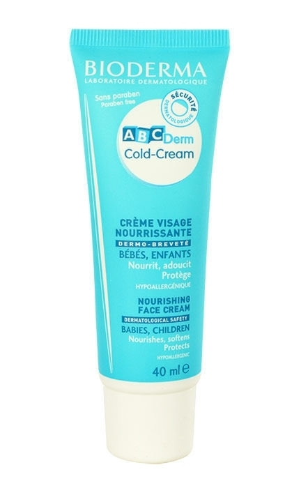 Bioderma Abcderm Cold-cream Day Cream 40ml (All Skin Types)