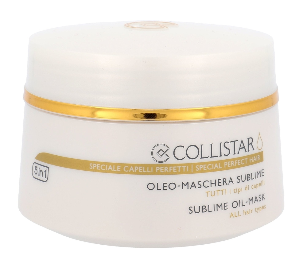 Collistar Sublime Oil Line Oil Mask 5in1 Hair Mask 200ml (All Hair Types)
