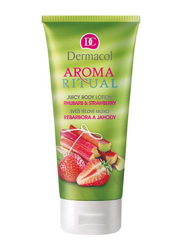 Dermacol Aroma Ritual Body Lotion Rhubarb & Strawberry 200ml oμορφια   σώμα   κρέμες σώματος