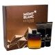 Montblanc Legend Night Eau De Parfum 100ml Combo: Edp 100 Ml + Aftershave Balm 100 Ml + Shower Gel 100 Ml