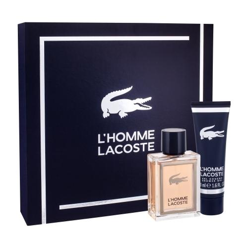 Lacoste L/homme Eau De Toilette 50ml Combo: Edt 50 Ml + Shower Gel 50 Ml