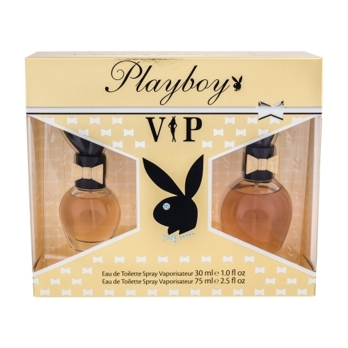 Playboy Vip Set Eau De Toilette 75 Ml + Eau De Toilette 30 Ml