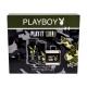 Playboy Play It Wild For Him Eau De Toilette 100ml Combo: Edt 100 Ml + Shower Gel 250 Ml + Deodorant 150 Ml