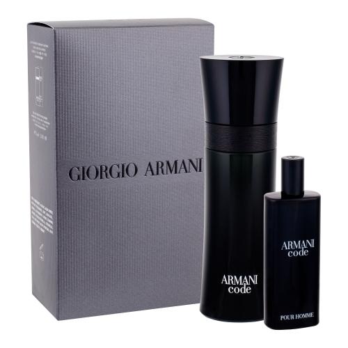 Giorgio Armani Armani Code Pour Homme Eau De Toilette 75ml Combo: Edt 75 Ml + Edt 15 Ml
