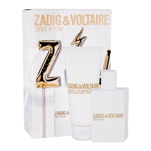 Zadig & Voltaire Just Rock! Eau De Parfum 50ml Combo: Edp 50 Ml + Body Lotion 100 Ml