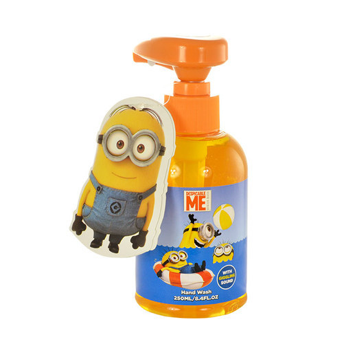 Minions Hand Wash With Giggling Sound Liquid Soap 250ml