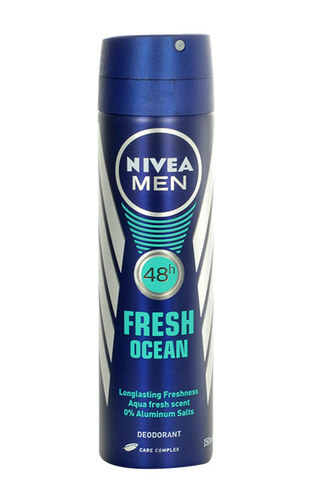 Nivea Men Fresh Ocean Anti-Perspirant Deodorant 150ml 48 Hours Of Anti-Sweating Protection