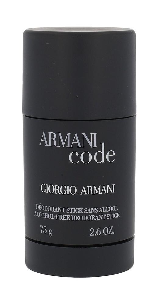 Giorgio Armani Armani Code Pour Homme Deodorant 75ml Aluminum Free - Alcohol Free (Deostick)