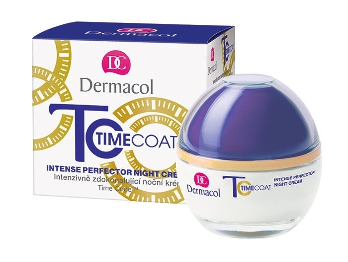 Dermacol Time Coat Night Skin Cream 50ml (Wrinkles - All Skin Types)