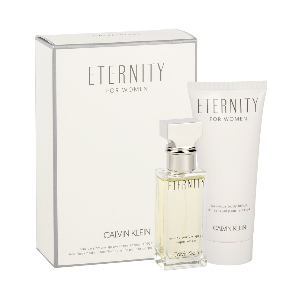 Calvin Klein Eternity Eau De Parfum 30Ml - Set: Eau De Parfum 30Ml & 100Ml Body Lotion
