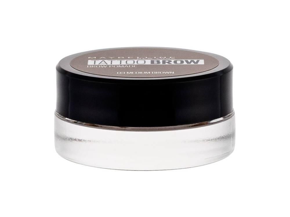 Maybelline Brow Tattoo Lasting Color Pomade For Eyebrows 4gr 03 Medium Brown