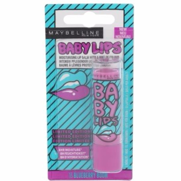 Maybelline Baby Lips Pop Art 4,4gr 18 Blueberry Boom