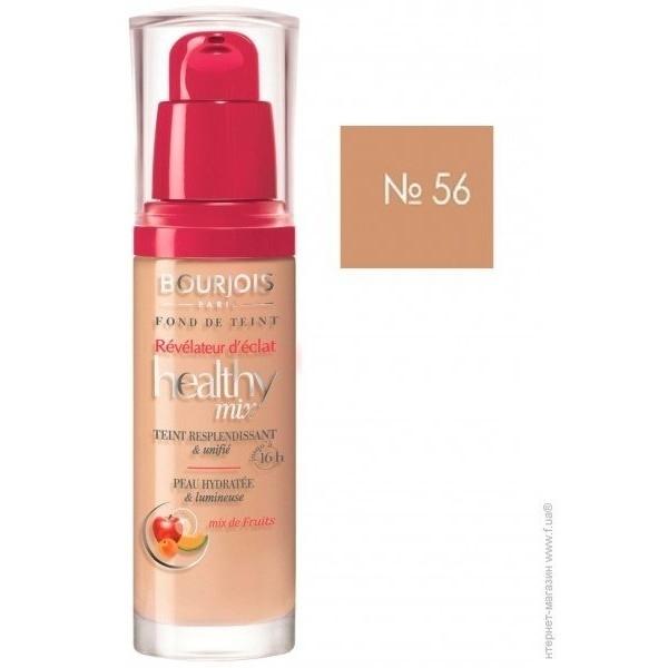 Bourjois Paris Healthy Mix Foundation 56 Light Bronze 30ml oμορφια   μακιγιάζ   μακιγιάζ προσώπου   make up
